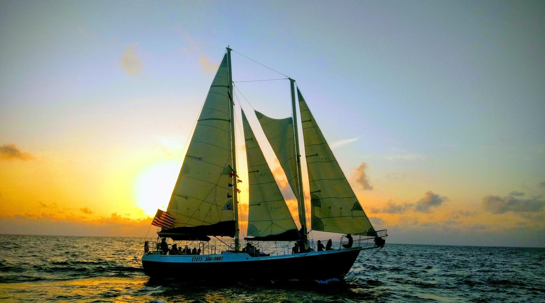 Sunset Sailing Cruise - Clearwater Beach