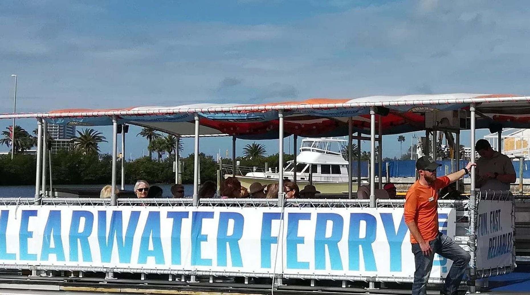 Downtown Clearwater Ferry Ride