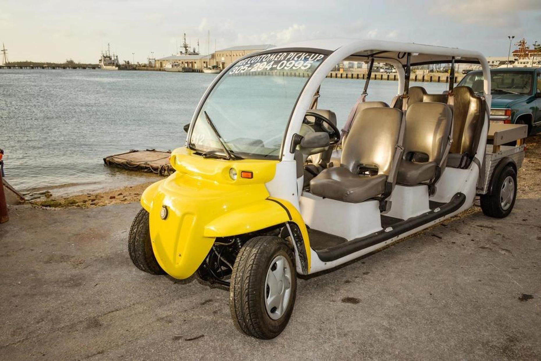 Eight-Hour Six-Seat Electric Car Rental in Key West