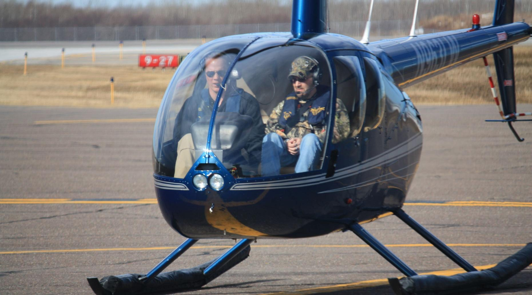 2-Mile Helicopter Tour