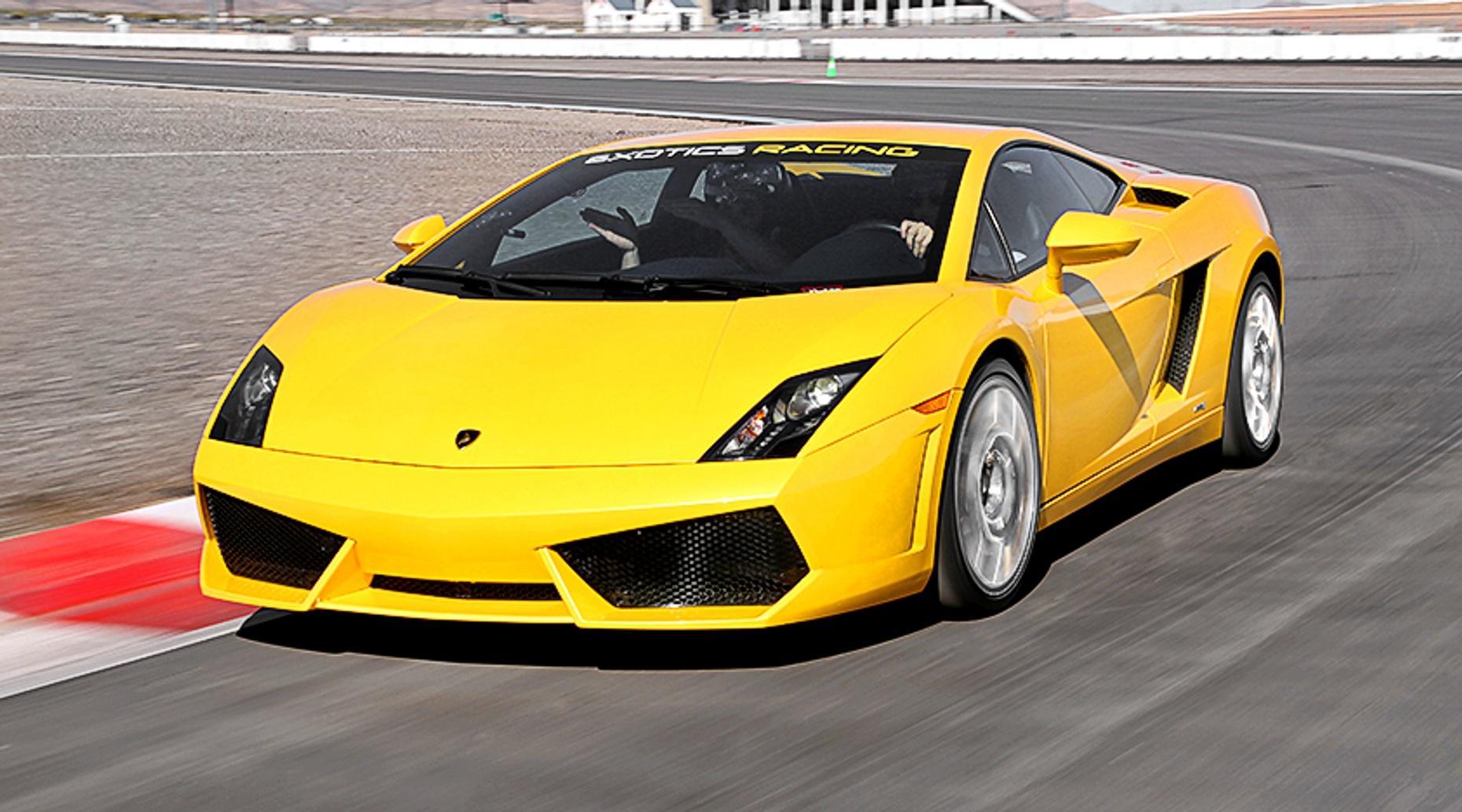 Las Vegas Race Car Driver Experience with a Lamborghini