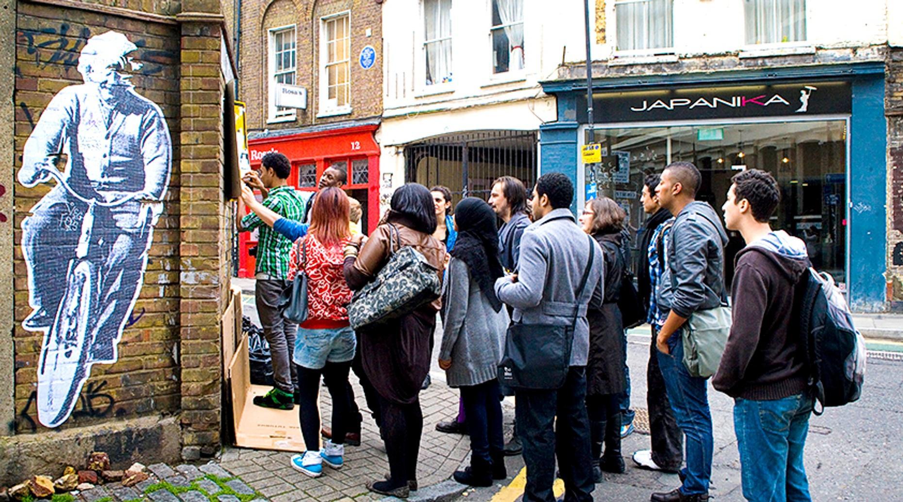 Guided Tour of London Street Art and Graffiti
