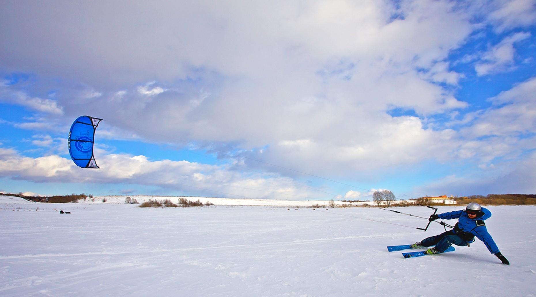 Half-Hour Advance Snowkite Lesson in Silverthorne