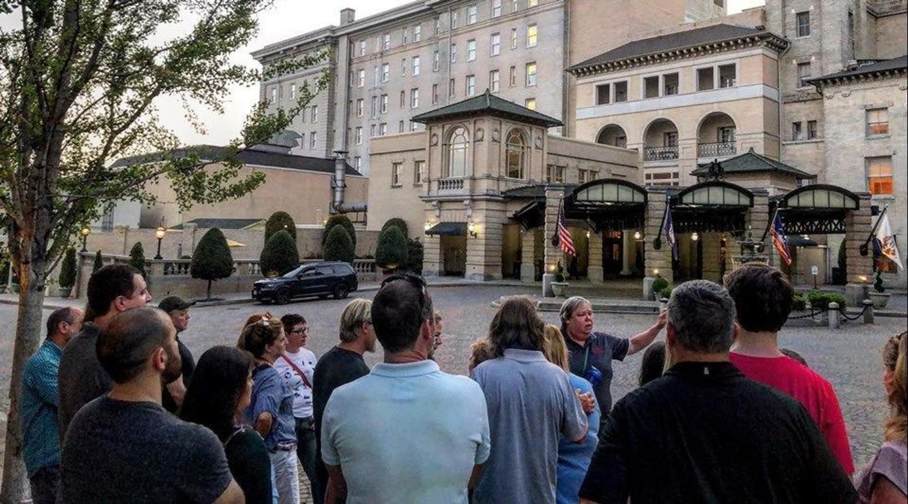 Phantoms of Franklin Walking Tour in Richmond