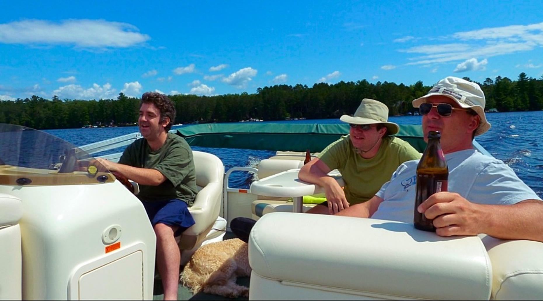 Four-Hour 14-Person Pontoon Boat Rental on Lake Lewisville