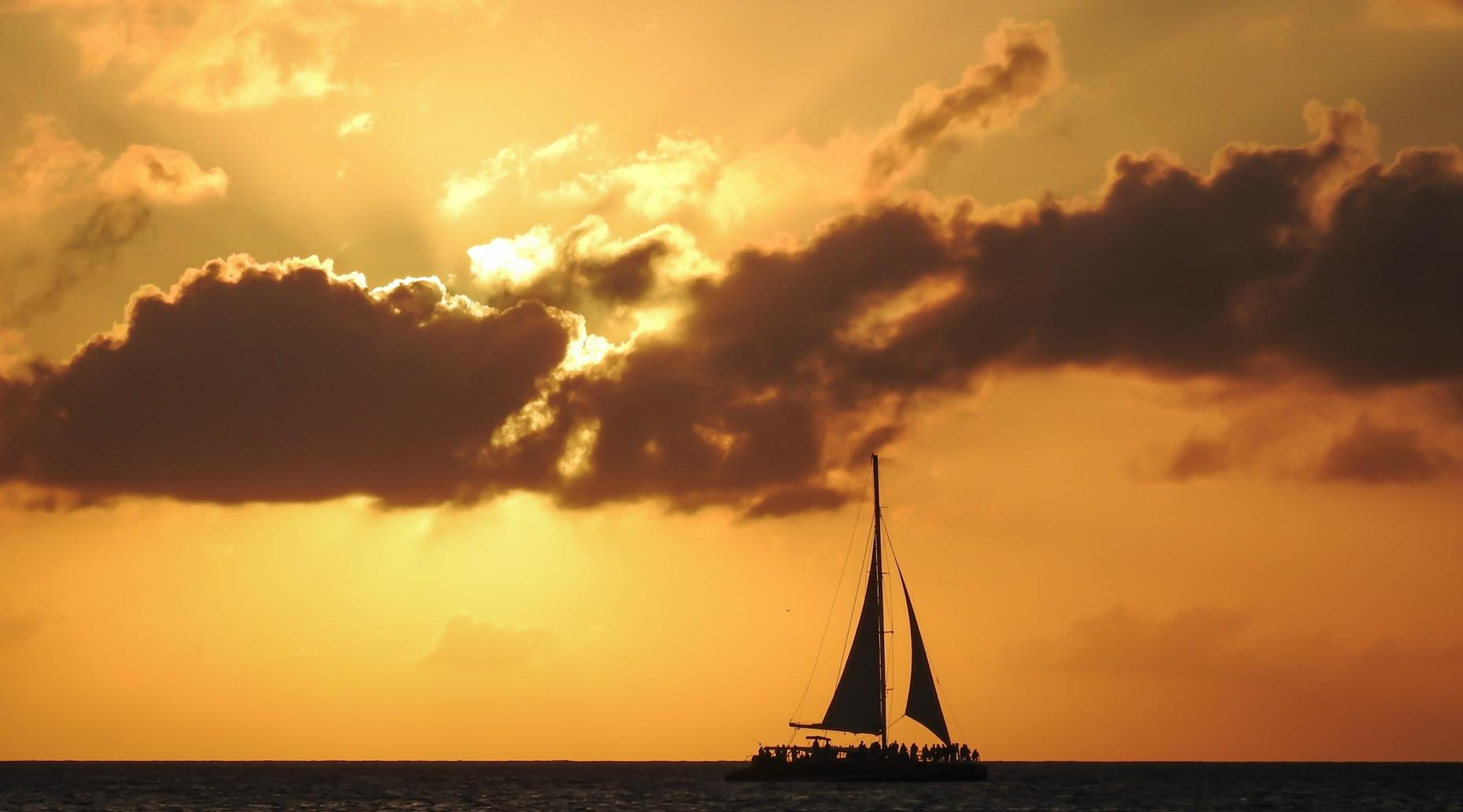 Sunset Summer Sail from San Diego