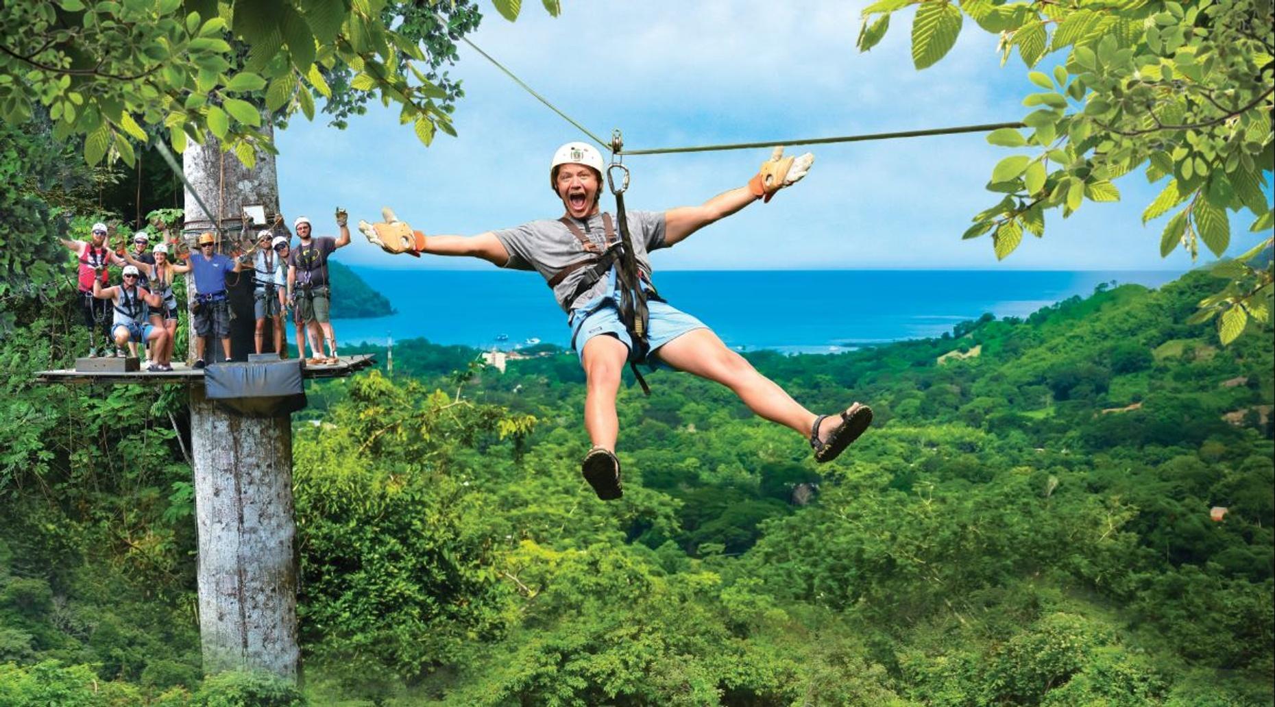 Jaco Zip Line Canopy Tour