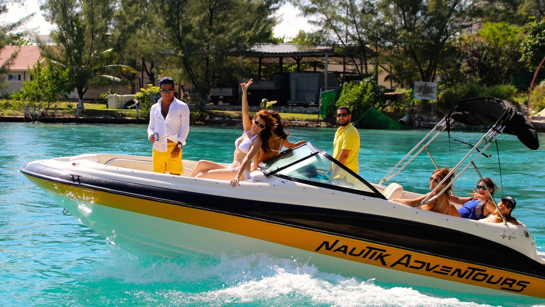 Custom Private Boat Tour in Cancun
