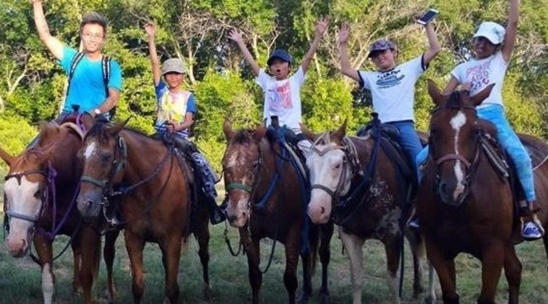 2-Hour Morning Trail Ride in Crowley