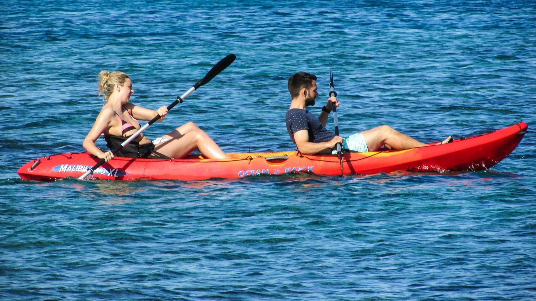 Kemah Clear Lake Double Kayak Rental