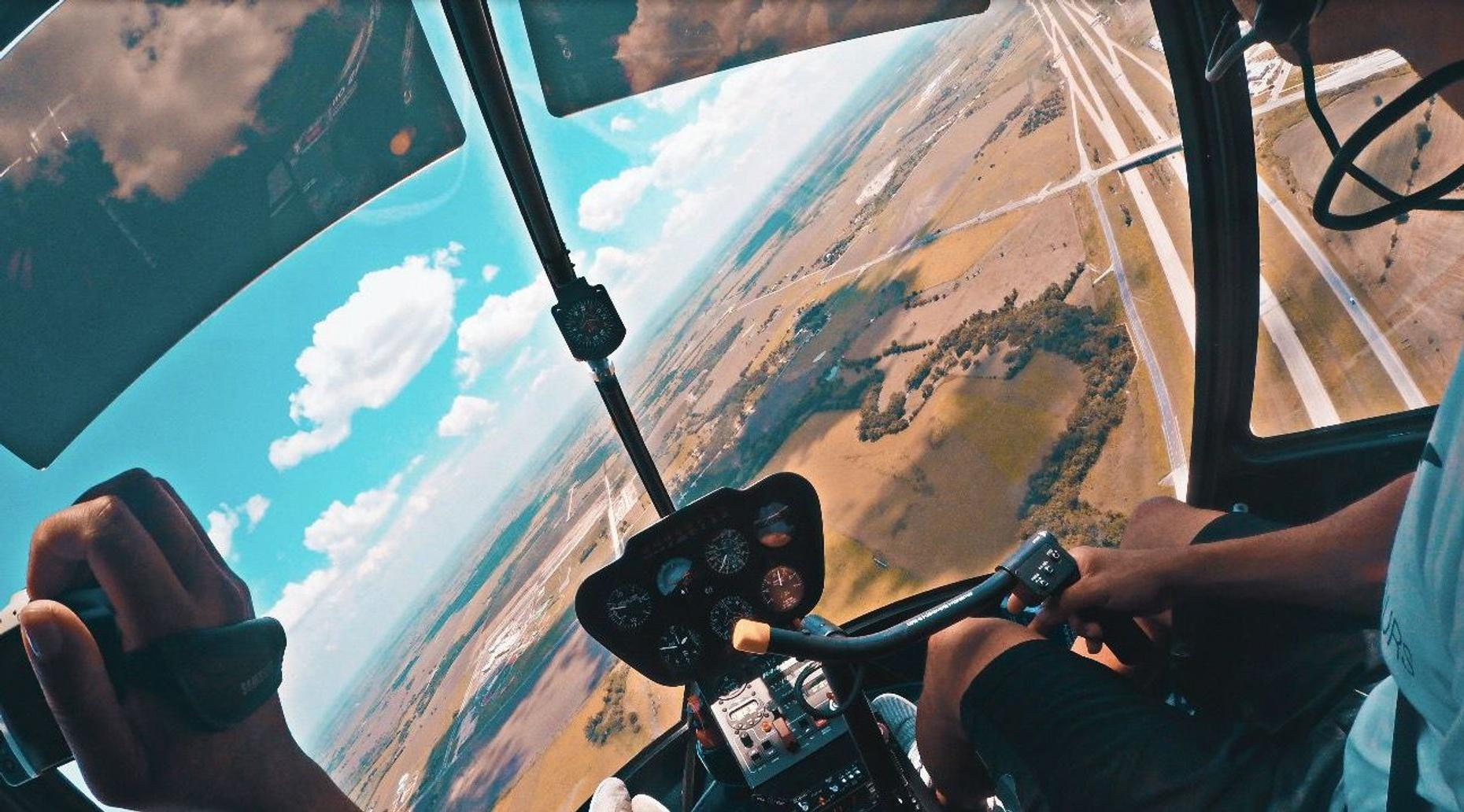 30-Minute Sunset Helicopter Tour in Austin