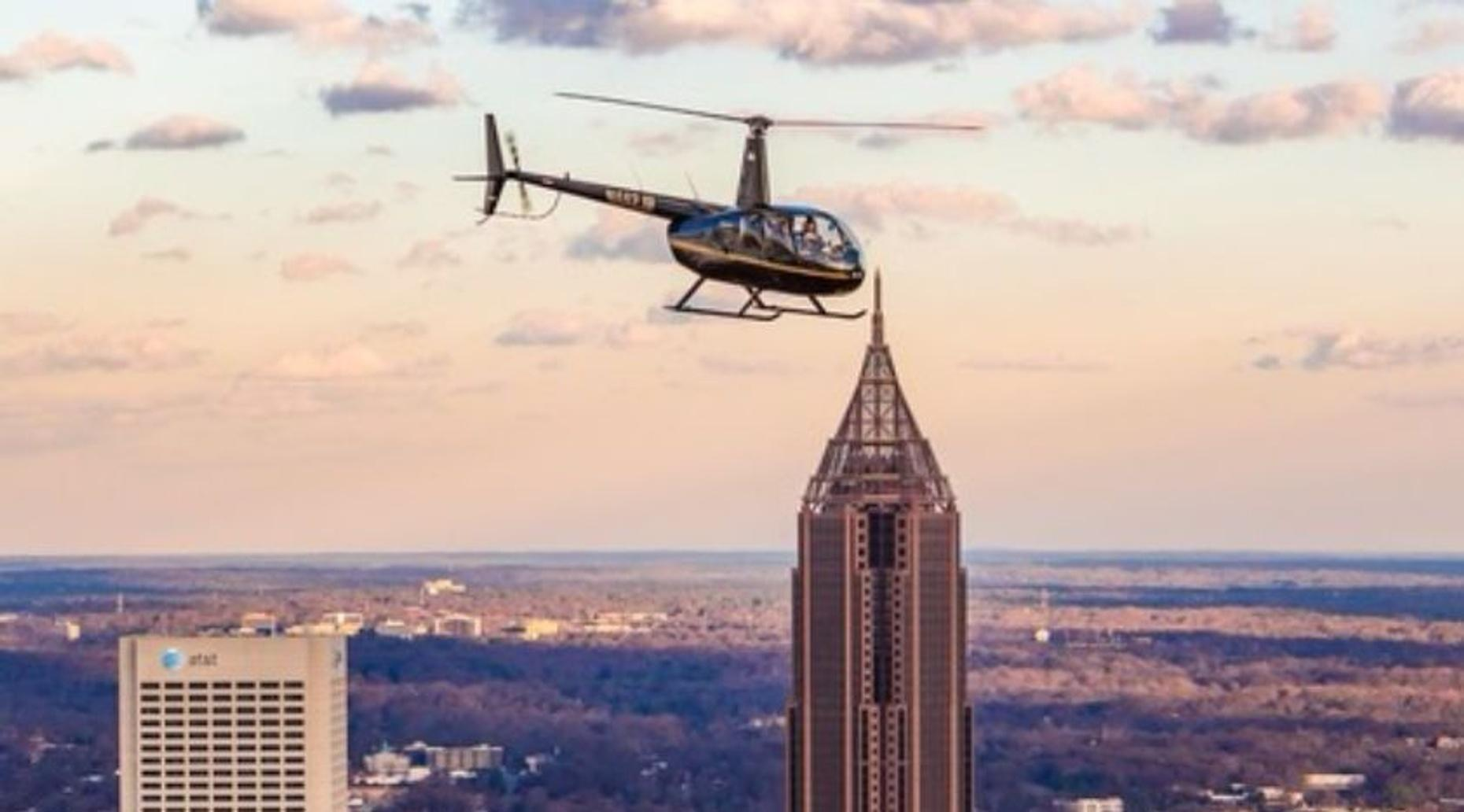 Helicopter Flight Tour in Atlanta