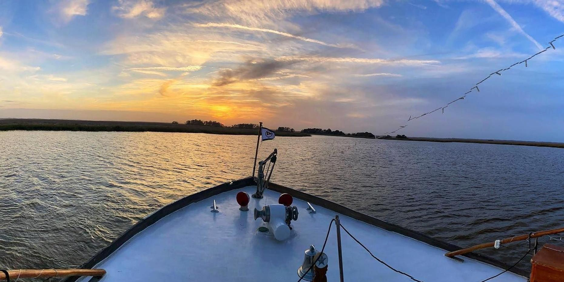 Sunset Boat Cruise in the Golden Isles