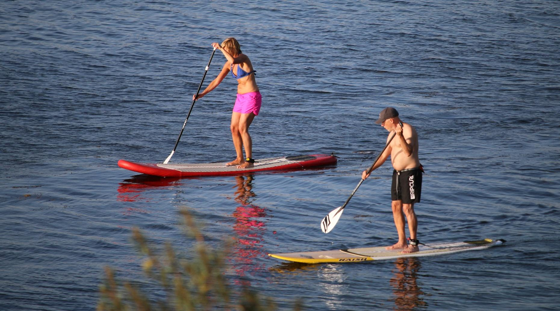 Stand-up Paddleboarding Skills Class in Austin