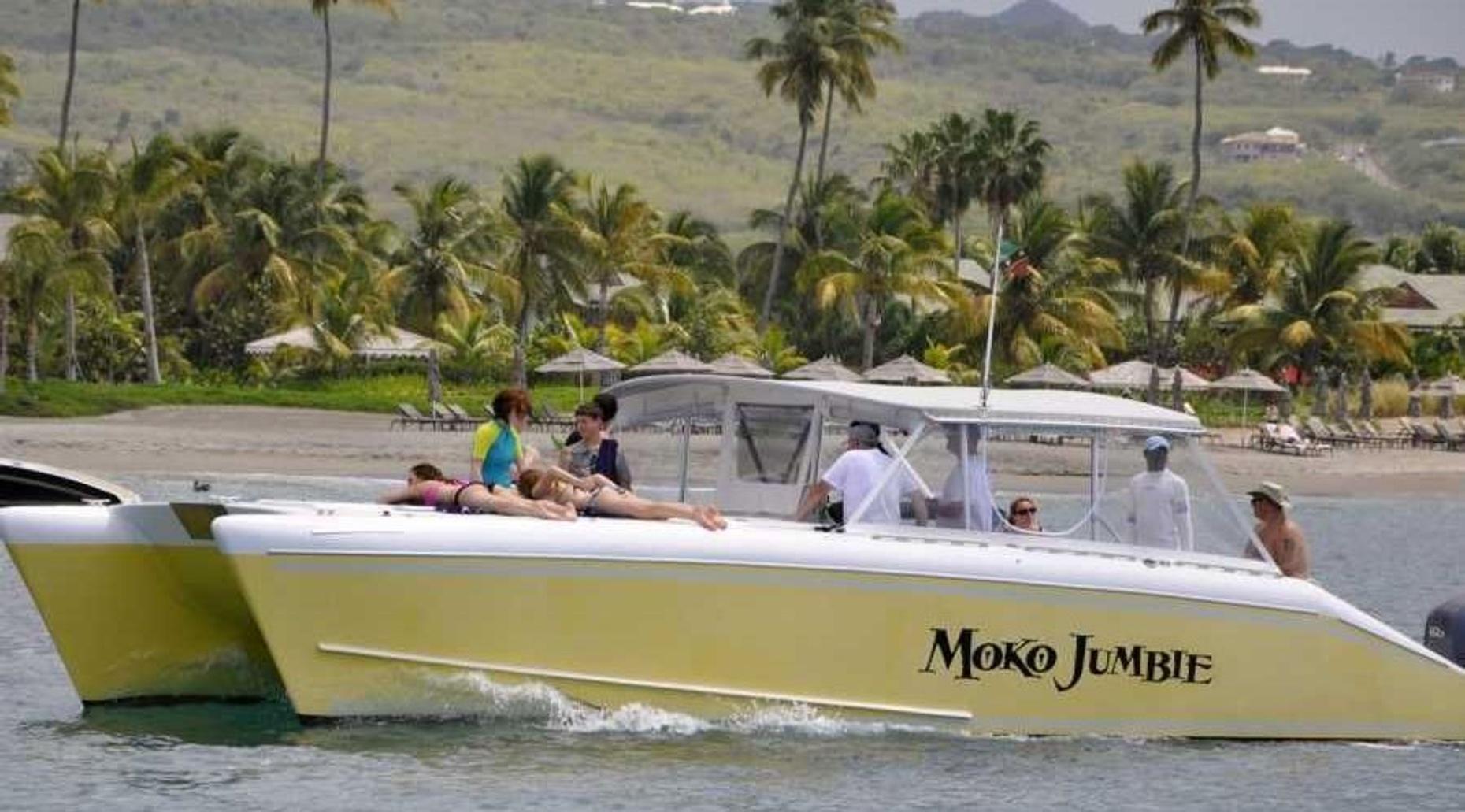 3.5- Hour Private Power Catamaran Experience