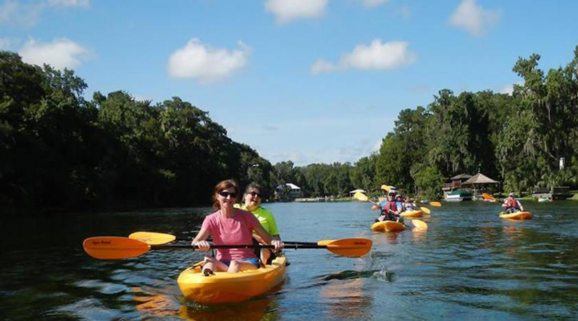 Kayak & Snorkel Tour on Rainbow River