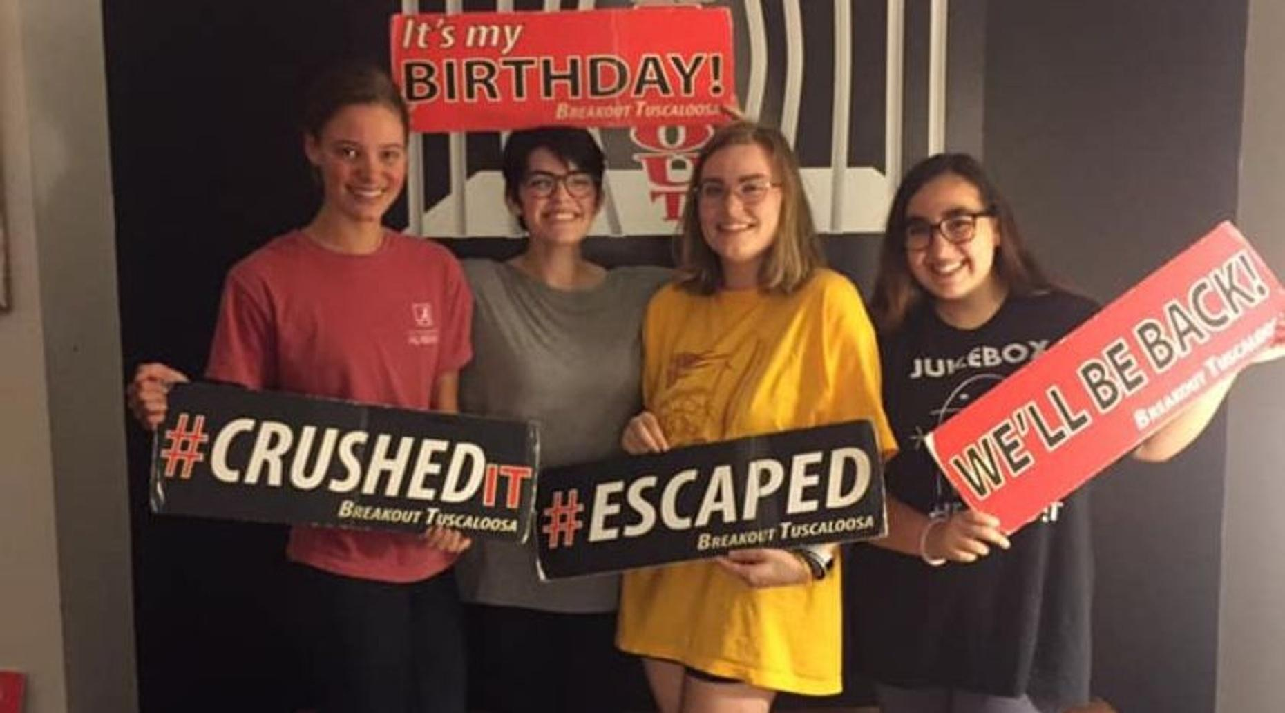 Where in the World is Detective Cafrey Escape Room in Tuscaloosa