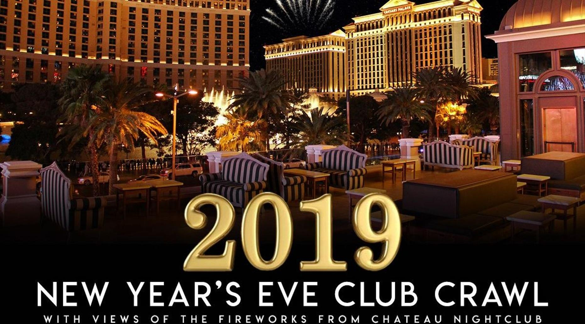 2020 Las Vegas New Years Eve  Crawl -  open bar