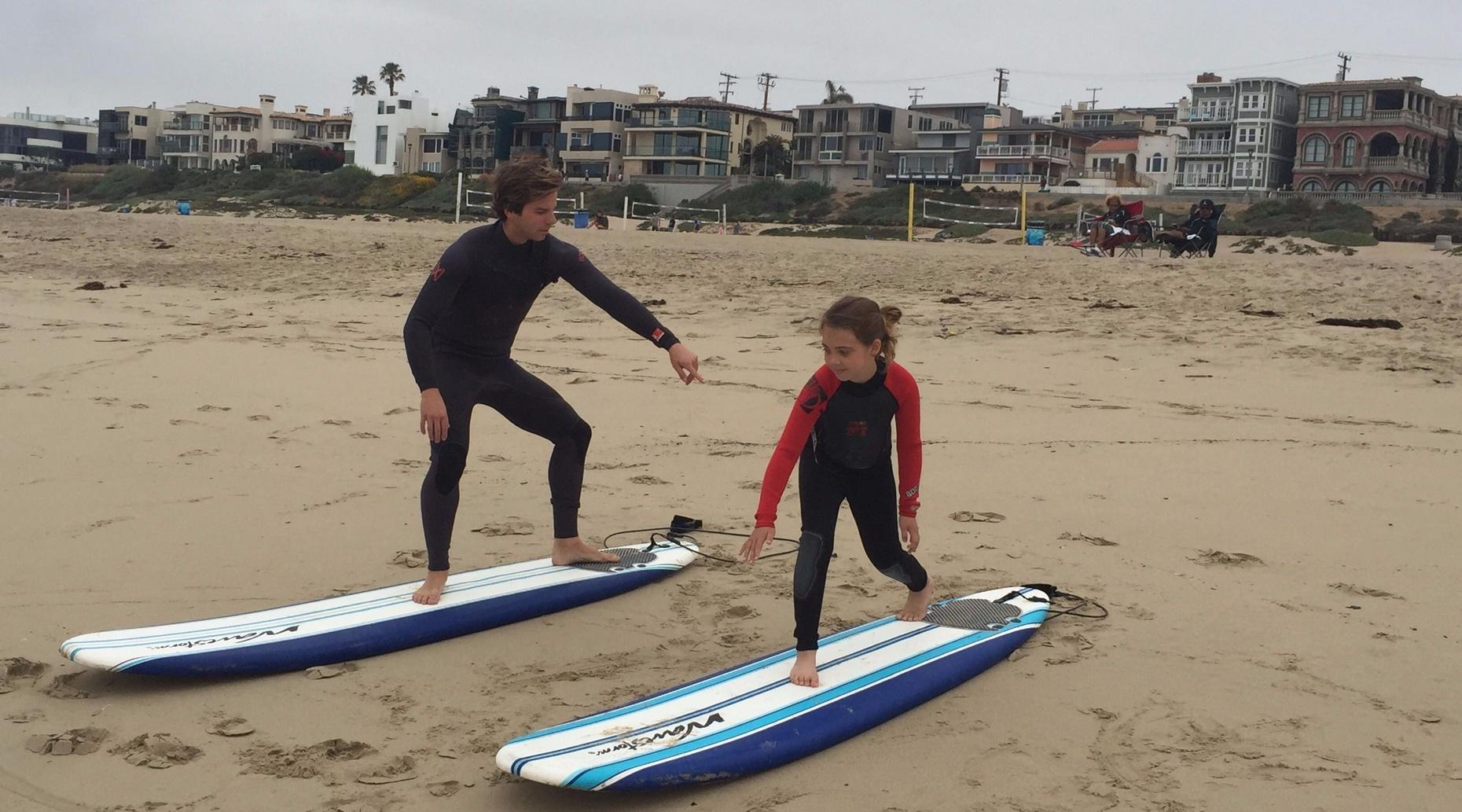 Private Surf Lesson in Manhattan Beach
