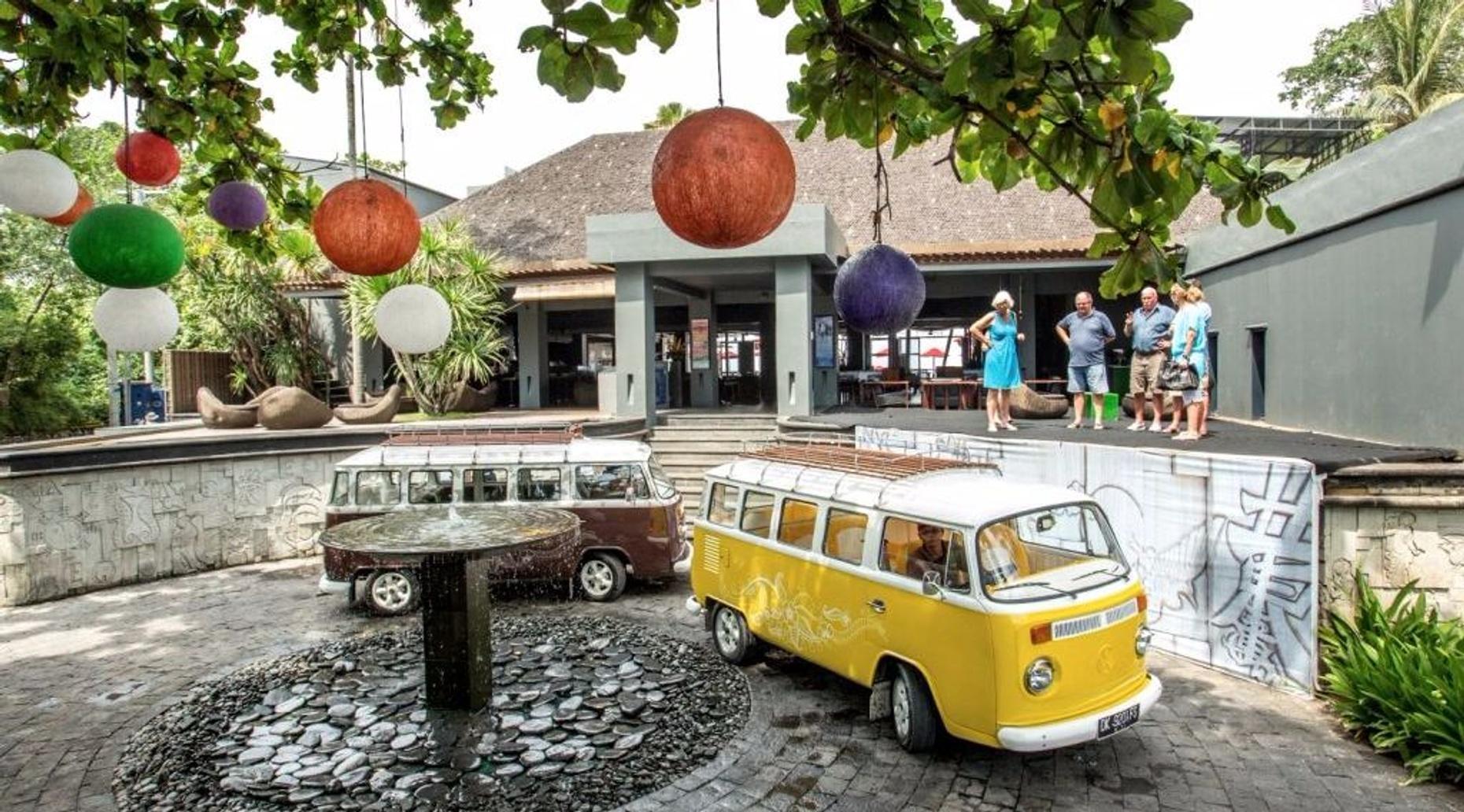 Driving Tour of Bali in a VW Kombi Van
