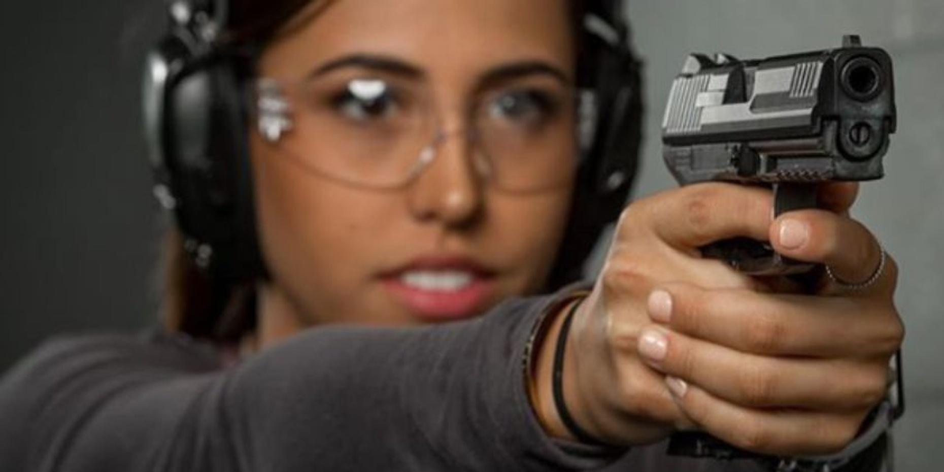 Shooting Practice with Law Enforcement Firearms in Las Vegas