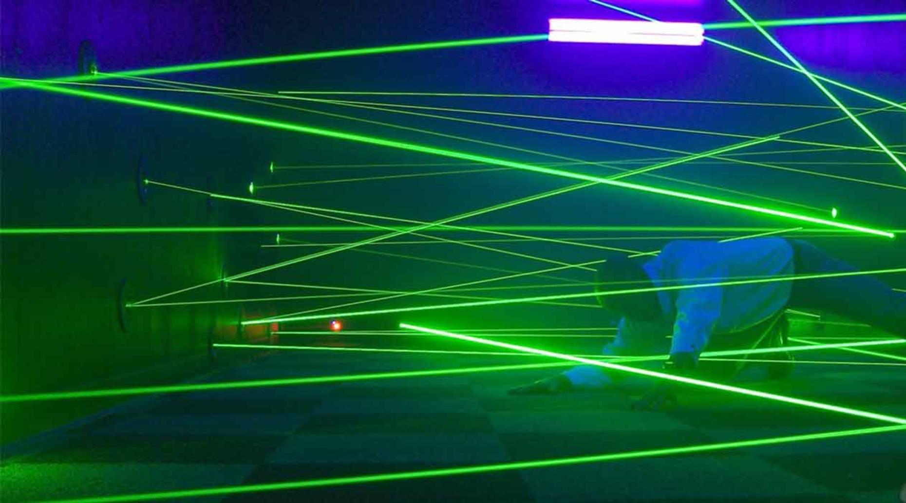 Laser Maze Challenge in San Francisco