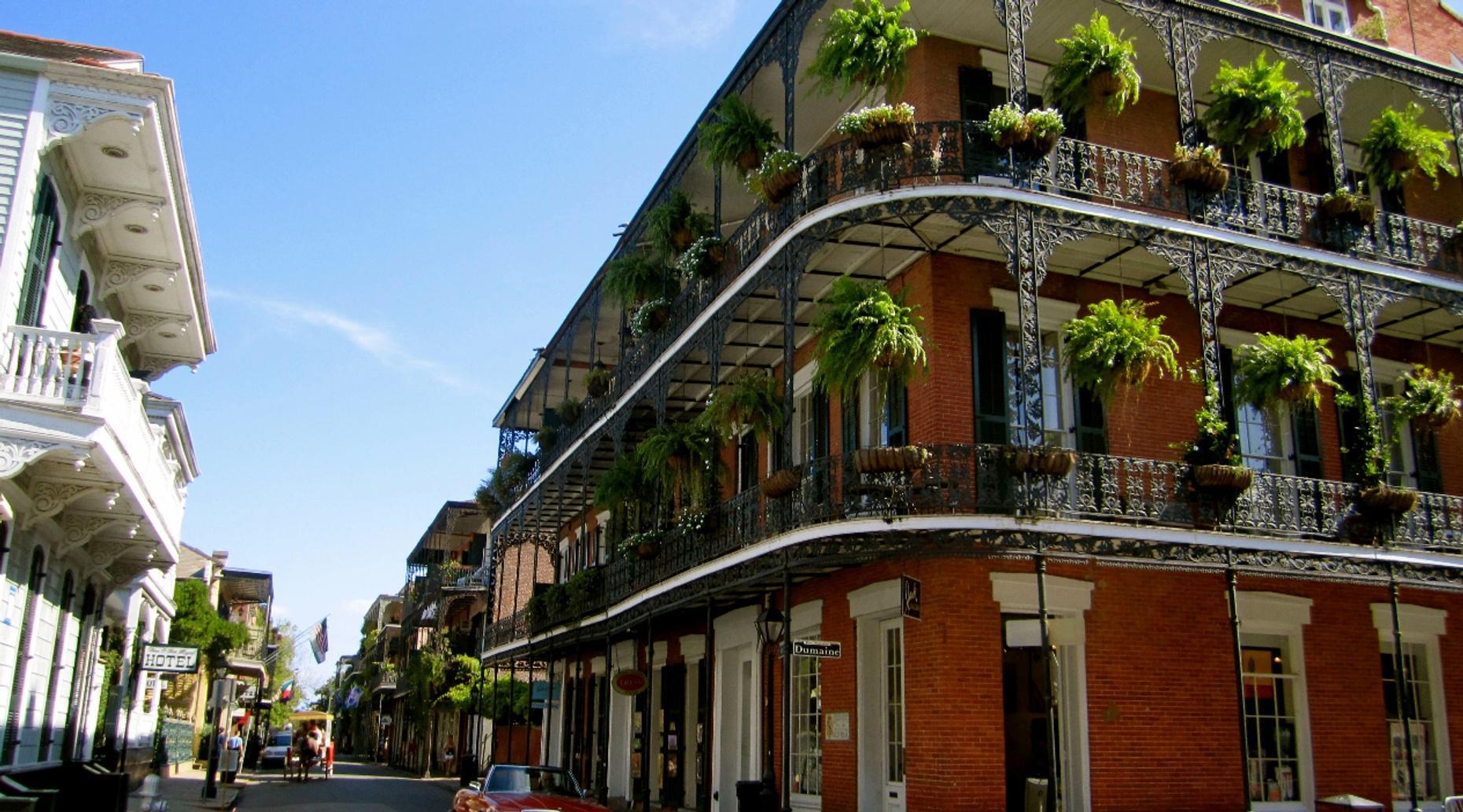 New Orleans Vieux Carre Walking Tour
