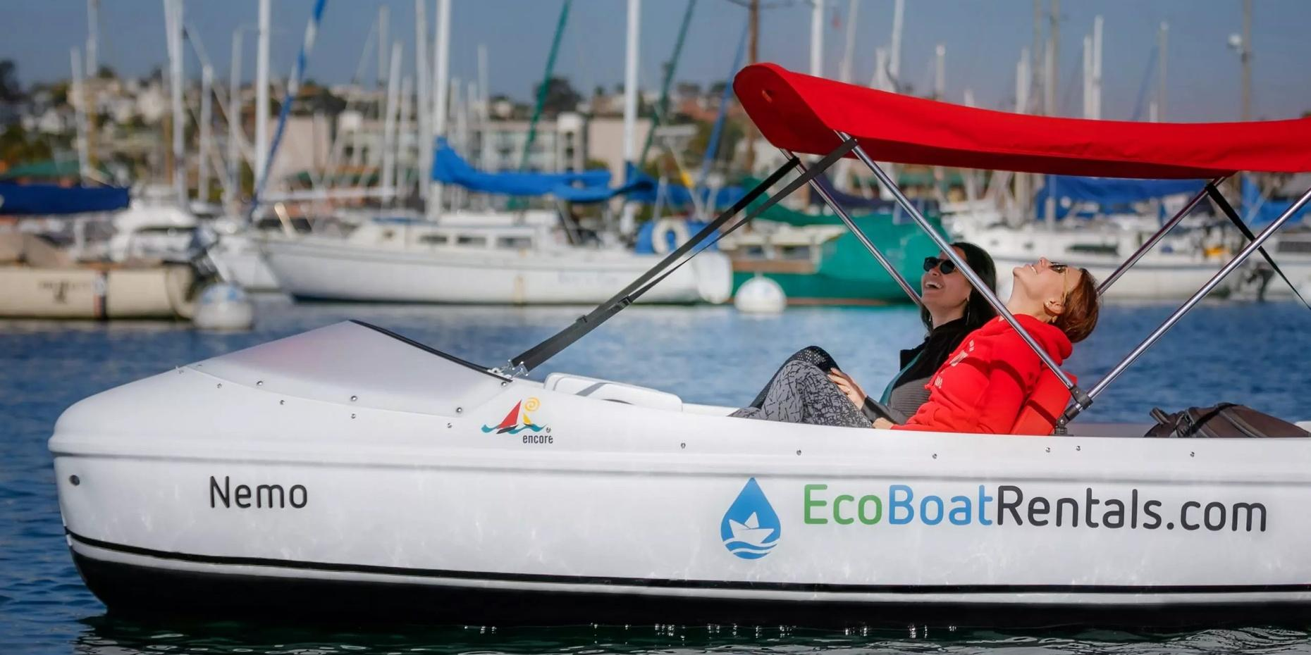 Eco Pedal Boat Rentals in San Diego Bay