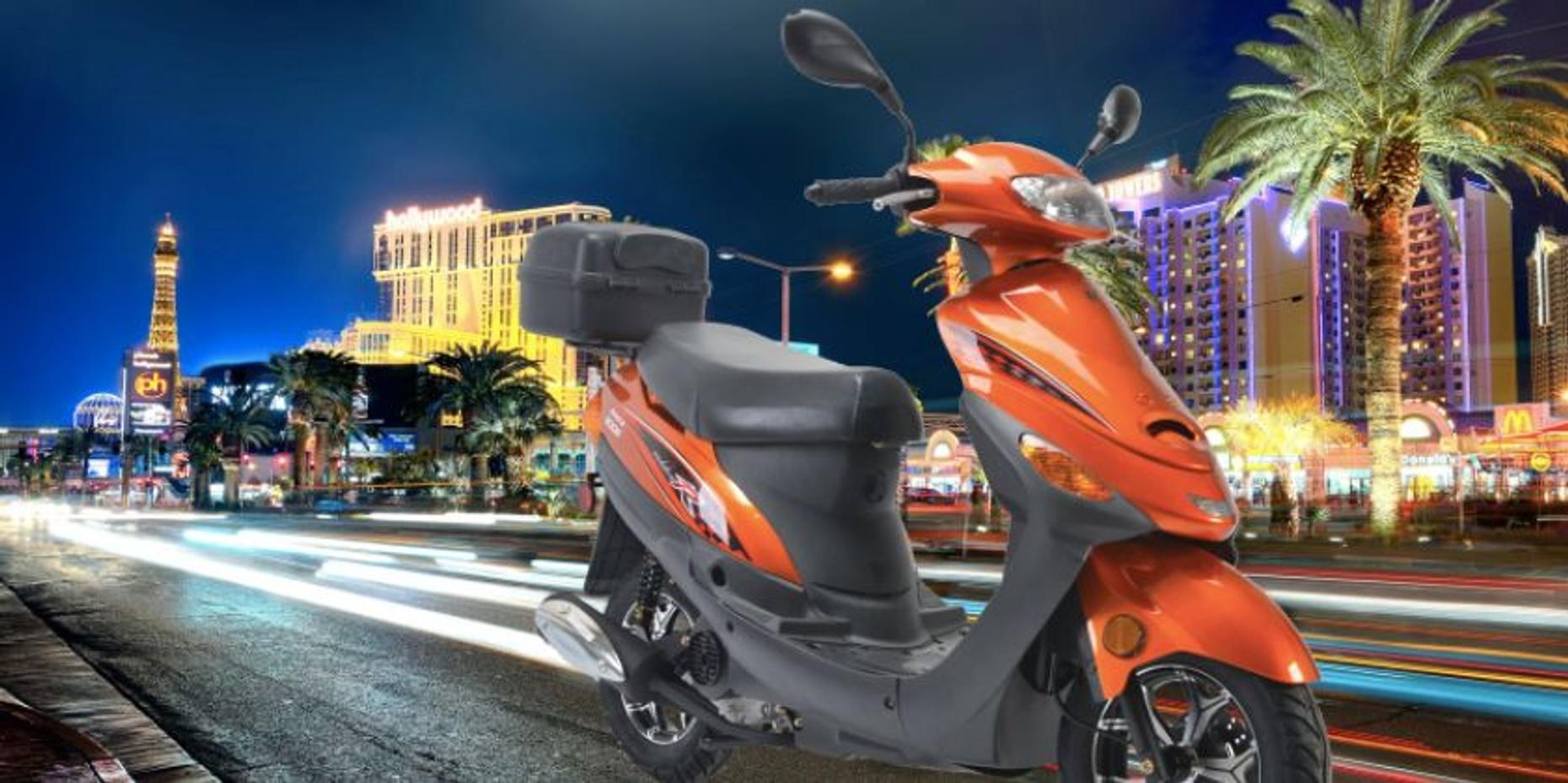 Full-Day Scooter Rental in Las Vegas