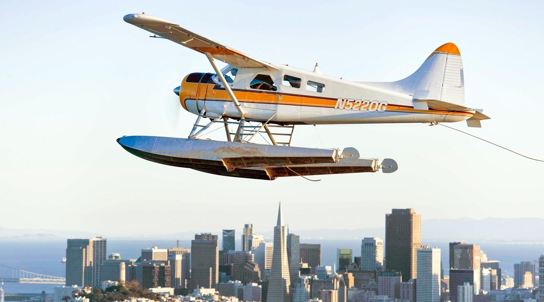 Golden Gate Seaplane Tour