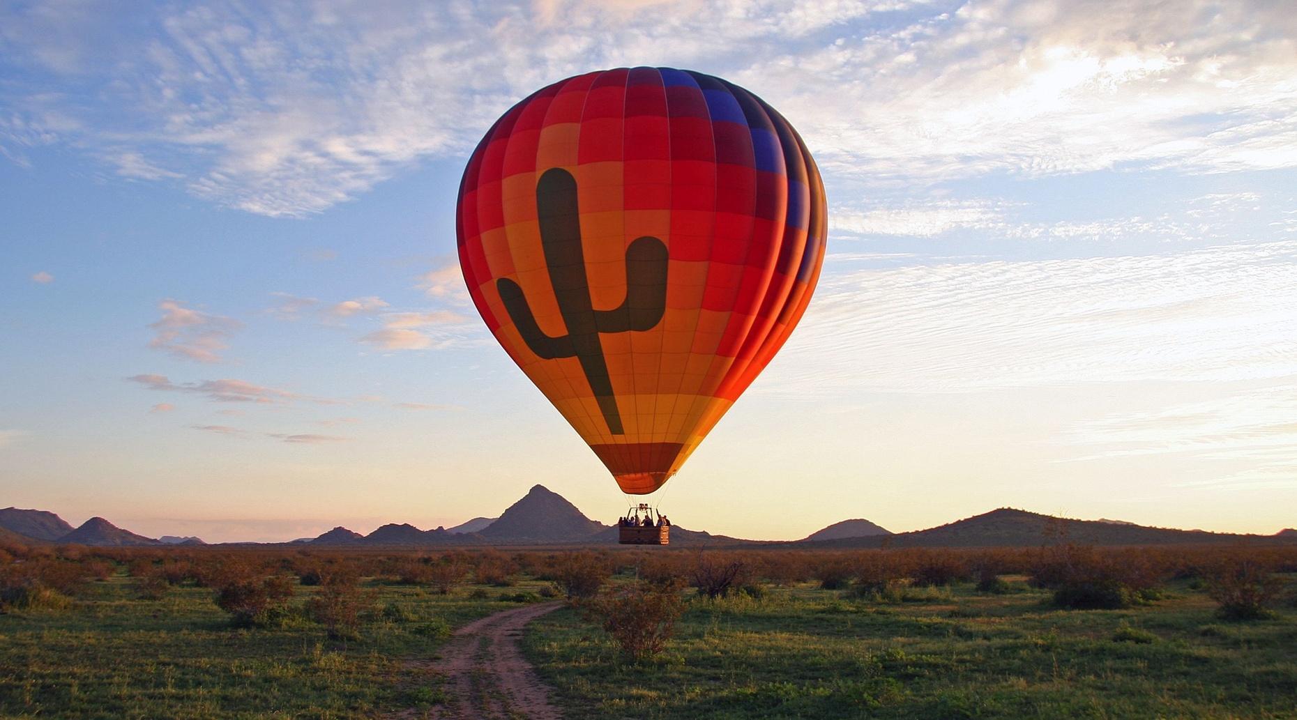 Morning Hot Air Balloon Flight in Phoenix