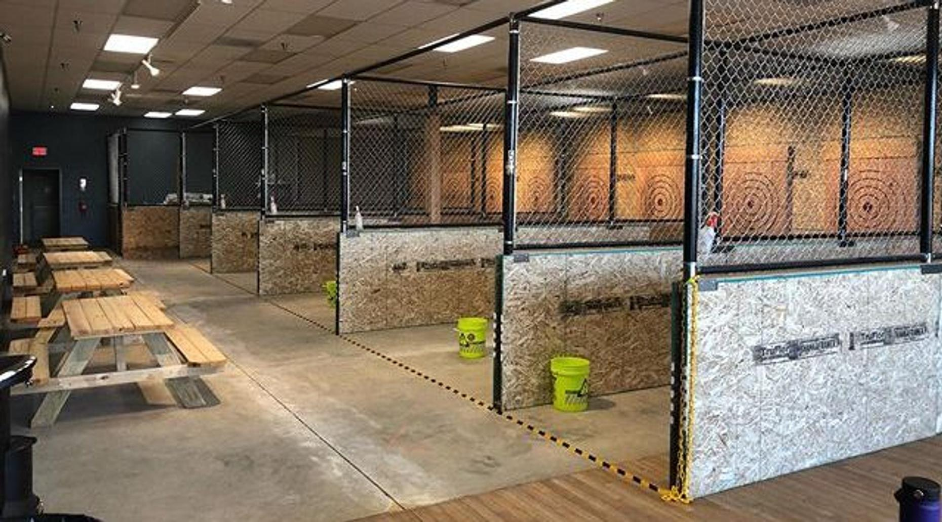 1-Hour Axe Throwing - Lane 3
