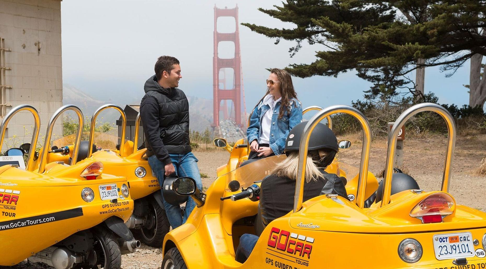 2-Hour Golden Gate Bridge GoCar Tour