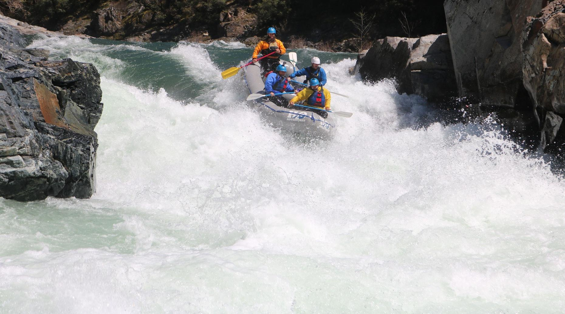 Full-Day Class 5 Spring Rafting Trip