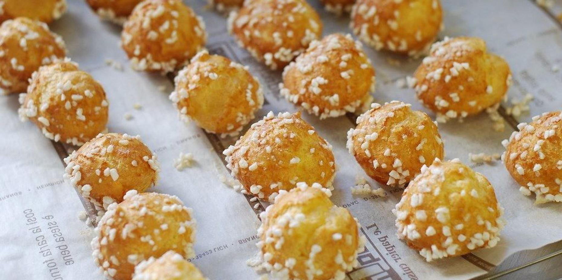 Online Cooking Class for Kids: Chouquettes (Sugar Puffs)