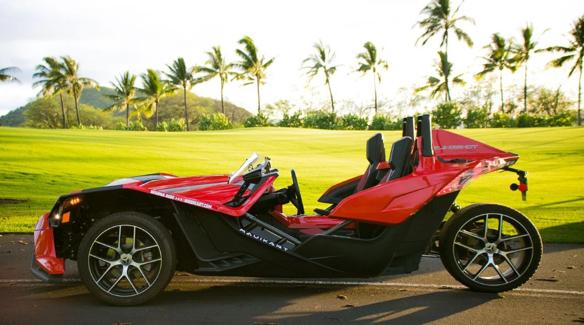 5-Hour Polaris Slingshot Rental in Maui