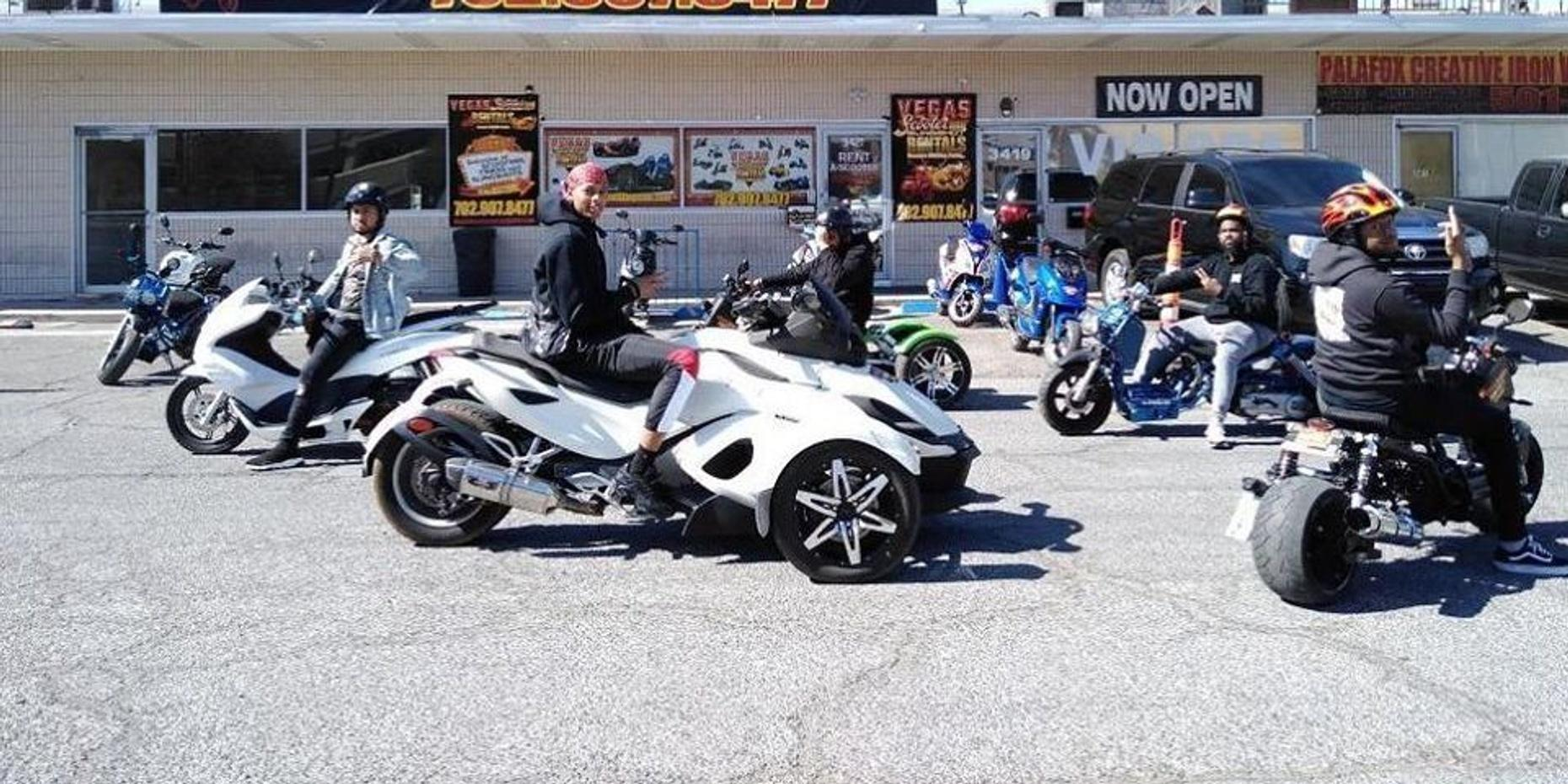Full-day Icebear 100cc Trike Rental in Las Vegas