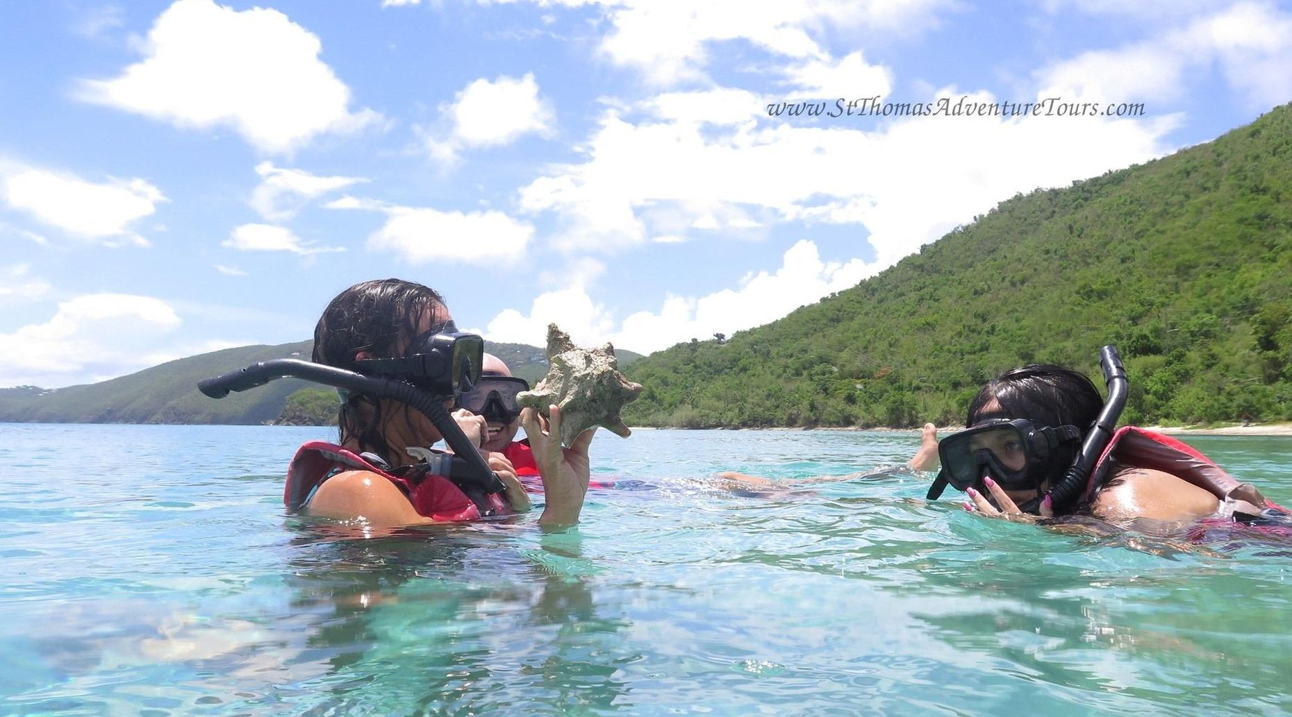 Turtle and Snorkel Excursion in St. Thomas
