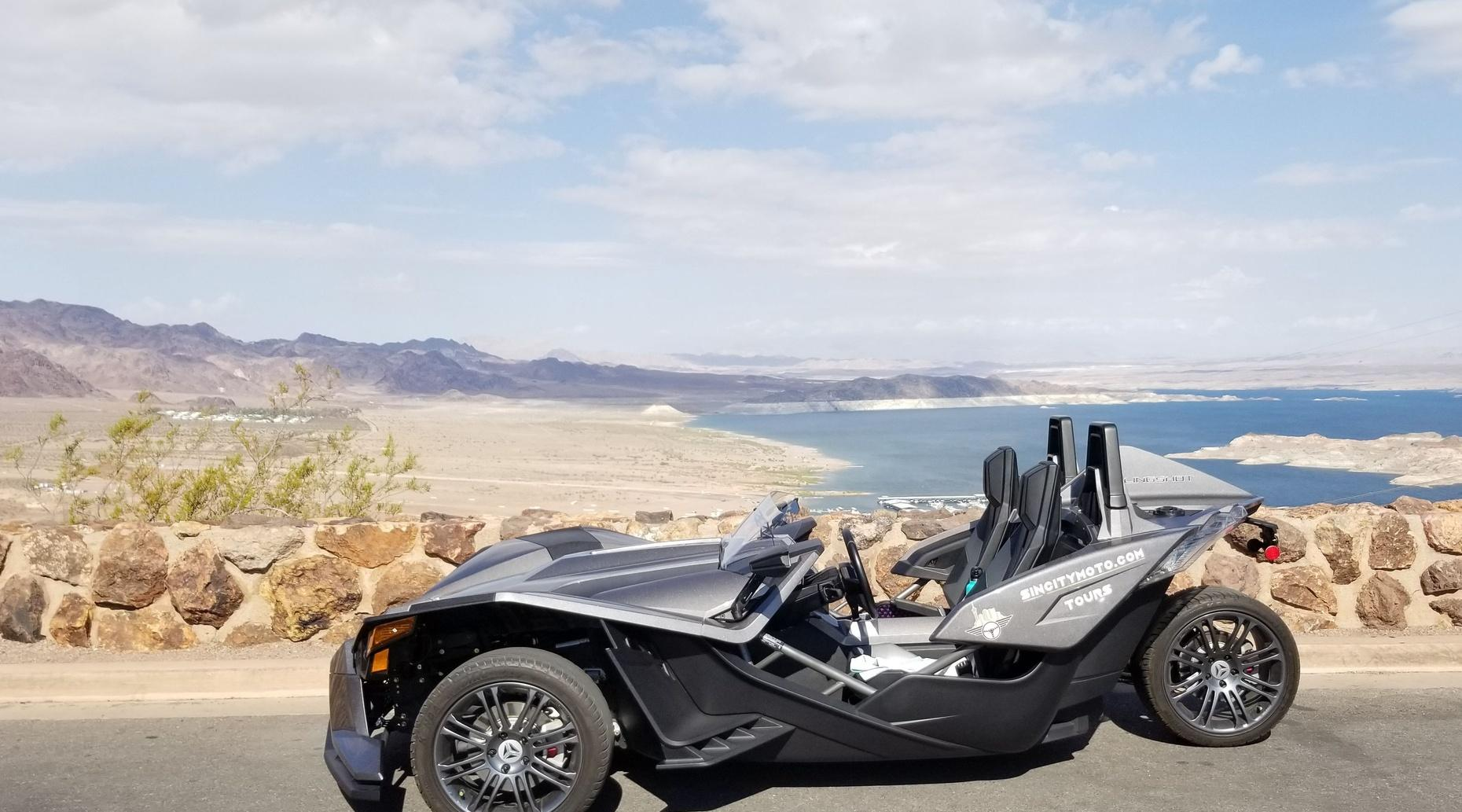 8-Hour Slingshot Rental in Las Vegas