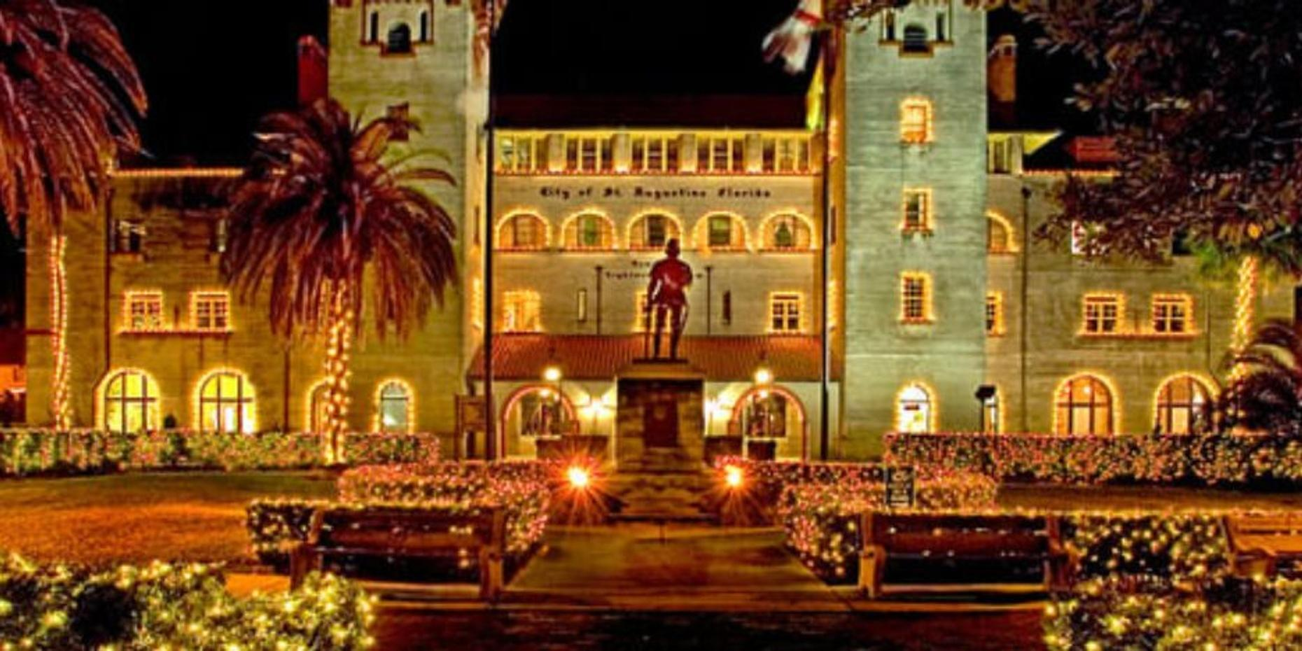 Private Night of Lights Tour in St. Augustine