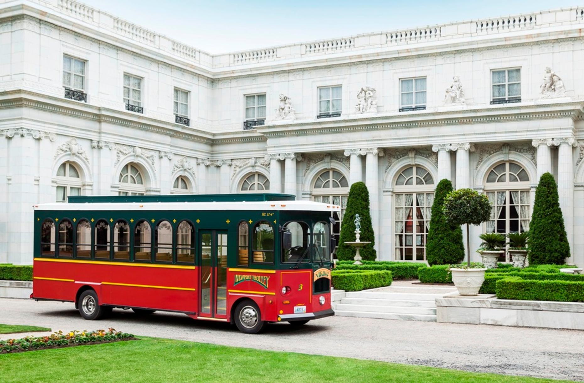 Vanderbilt Mansion Trolley Tour of Newport