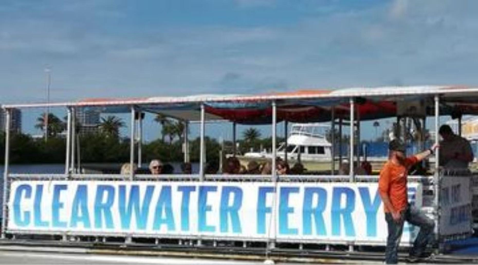Clearwater Beach to Dunedin Marina Ferry Ride