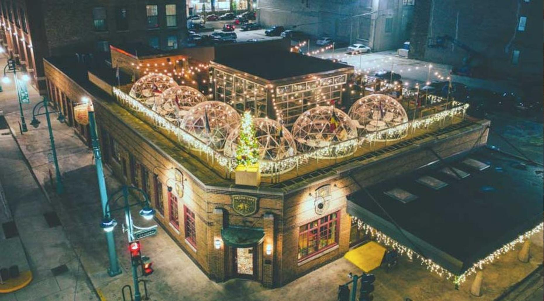 Private Rooftop Dome in Milwaukee