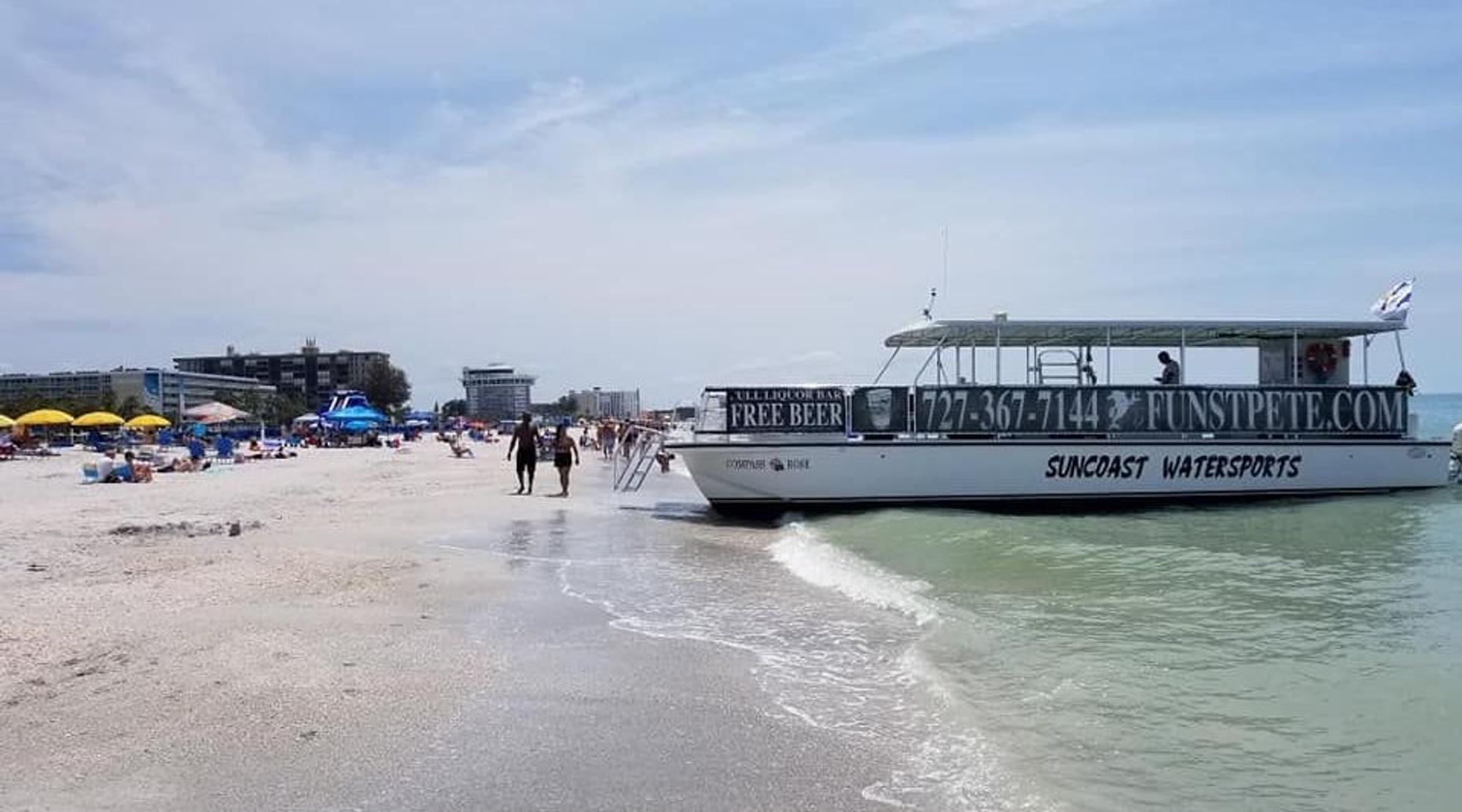 Combo Sand Dollar Island & Sunset Dolphin Cruise