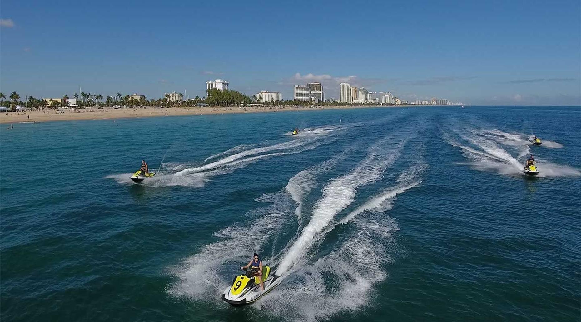 30 Minute Jet Ski Rental in Fort Lauderdale