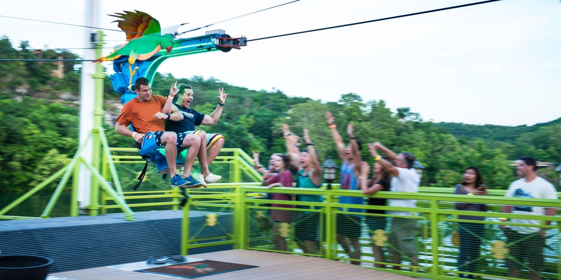 Waterfront Zipline Experience in Branson