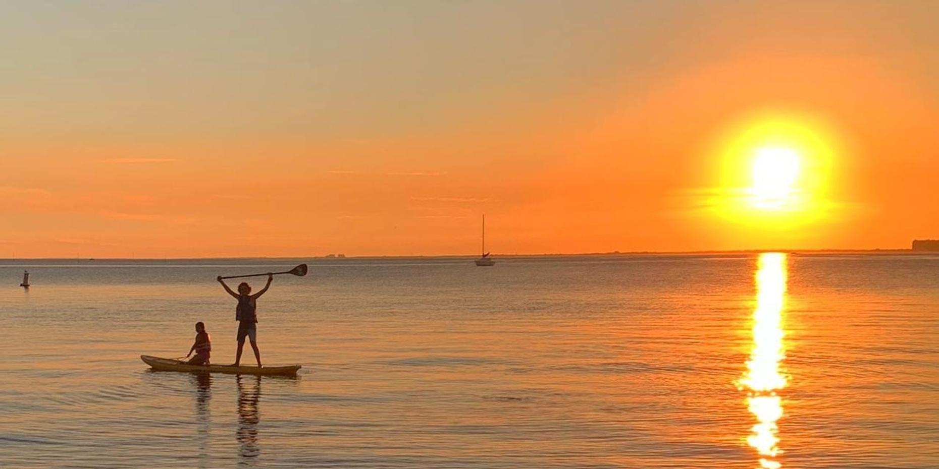 Beach Package with Paddleboards or Kayaks in Miami