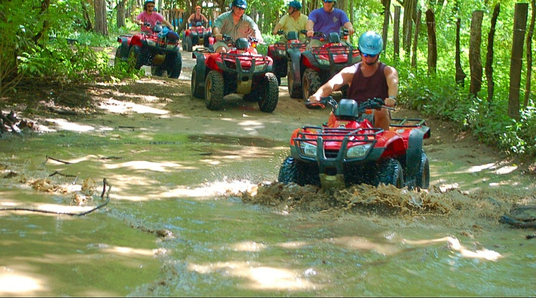 ATV Tour to a Waterfall in Huatulco
