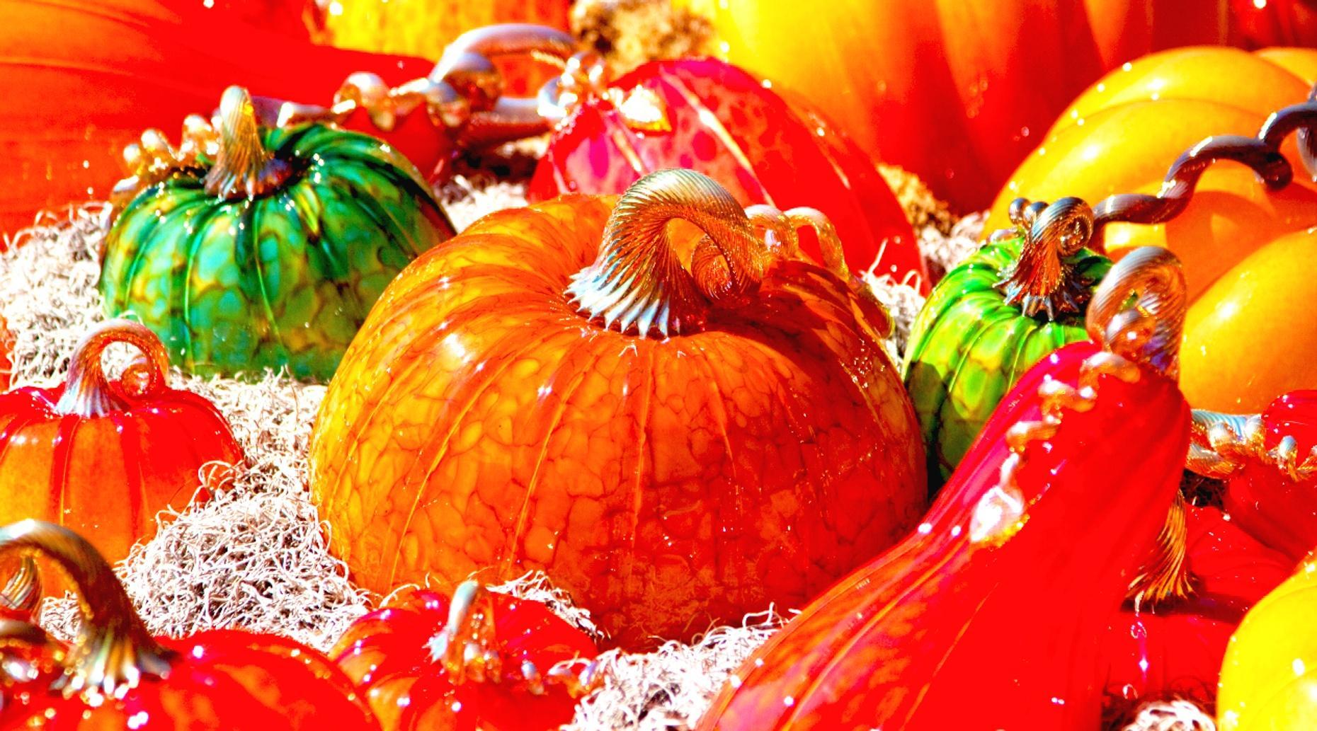 Make Your Own Glass Pumpkin
