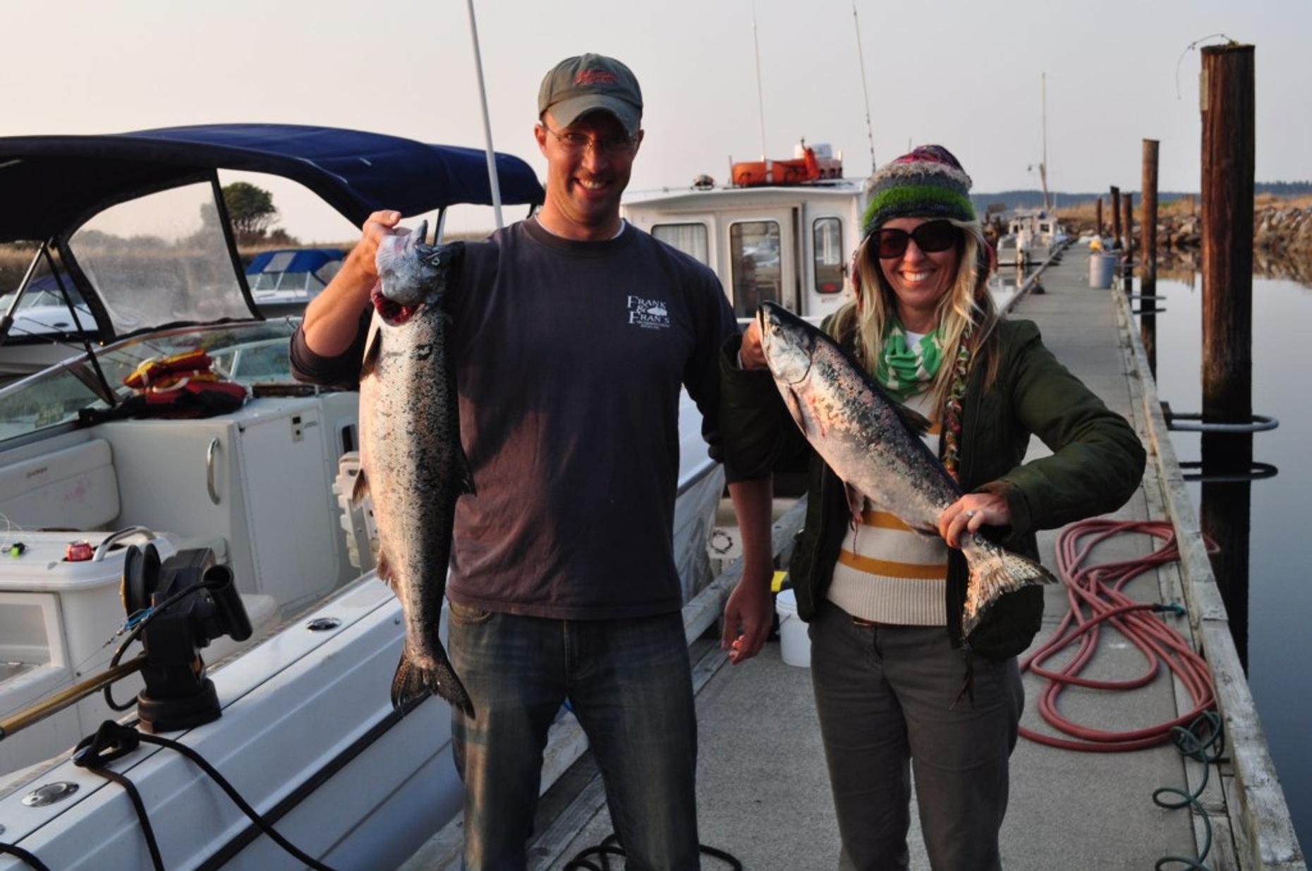 Salmon Fishing Trip in the San Juan Islands